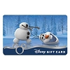 Disney Collectible Gift Card - Frozen - Olaf the Snowman