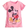 Disney GIRLS Shirt - Mickey Mouse Sequined Tee - Pink