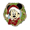 Disney Lanyard Pin Collection - Holiday Wreath - Mickey Mouse