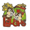 Disney Hotel Dreams Collection Pin Collection - Chip N Dale - Laughs