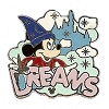 Disney Hotel Dreams Collection Pin Collection - Mickey Mouse - Dreams