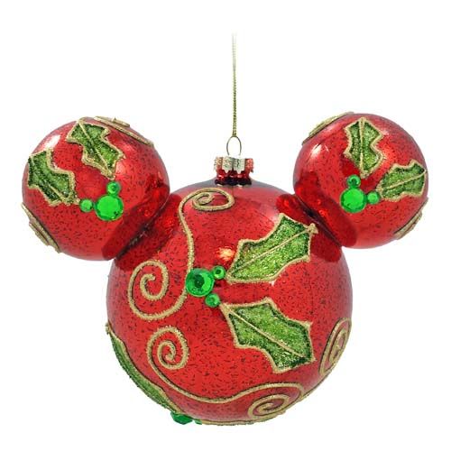 Your WDW Store  Disney Christmas Ornament  Mickey Ears Large