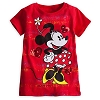 Disney GIRLS Shirt -Minnie Mouse Tee - All Heart