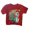 Disney CHILD Shirt - Frozen Olaf - So Hot I'm Cool