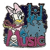 Disney Hotel Dreams Collection Pin Collection - Daisy Duck - Music