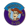 Disney Hidden Mickey Pin  - Magic Kingdom Parking Sign - Woody
