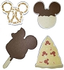Disney Notepad 4 pc. Set - Mickey Pizza Pretzel Ice Cream Rice Crispy