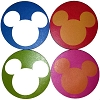 Disney Notepad 4 pc. Set - Mickey Mouse Ears Icons