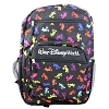 Disney Backpack Bag - Mickey Mouse Bright Silhouettes