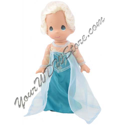 Your Wdw Store Disney Precious Moments Doll Frozen Elsa Doll By Precious Moments