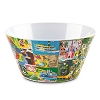 Disney Plastic Bowl - Magic Kingdom Map - Fantasyland