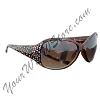 Disney Sunglasses - Mickey Crystal Icons - Brown Tortoiseshell