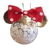 Disney Christmas Ornament - Krebs Glas Lauscha - Minnie Mouse Bow