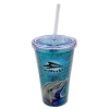 SeaWorld Tumbler with Straw - Dolphin