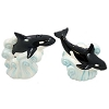 SeaWorld Salt and Pepper Shakers - Orca Whale