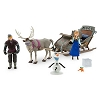 Disney Figurine Set - Frozen Sleigh Play Set