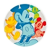 Disney Plastic Plate - Mickey Mouse Summer Fun Brights