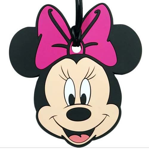 Your WDW Store - Disney Luggage Bag Tag - Minnie Mouse Face
