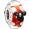 Disney Chamilia Charm - Minnie Mouse Murano - Red