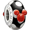 Disney Chamilia Charm - Minnie Mouse Murano - Black