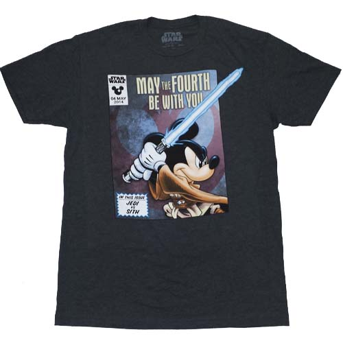 May The 4th Be With You Merchandise: Disney ADULT Shirt