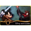 Disney Collectible Gift Card - Star Wars 2014 Jedi Mickey Darth Donald