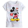 Disney GIRLS Shirt - Mickey Mouse - All Hearts