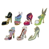 Disney Mini Pin Set - Disney Divas Shoes Mini Pin Set - Anna Elsa