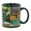 Disney Coffee Cup Mug - Attraction Poster Art - Green