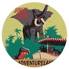 Disney Coaster - Attraction Poster Art - Jungle Cruise