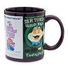 Disney Coffee Cup Mug - Attraction Poster Art - Purple