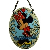 Disney Stained Glass Sun Catcher - Minnie Mouse - Small Oval