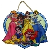 Disney Stained Glass Sun Catcher - 6 Princesses - Medium