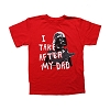 Disney Kids Shirt - Star Wars Weekends 2014 - I Take After My Dad