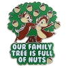 Disney Chip and Dale Pin - Our Family Tree is Full of Nuts