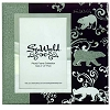 SeaWorld Picture Frame - Glass Mirror and Glitter - Polar Bears