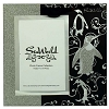 SeaWorld Picture Frame - Glass Mirror and Glitter - Emperor Penguins