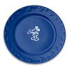 Disney Dinner Plate - Gourmet Mickey Mouse Icon - Blue with White
