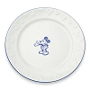 Disney Dinner Plate - Gourmet Mickey Mouse Icon - White with Blue