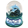 SeaWorld Snow Globe - Double Dolphin - Fancy Elegance Design