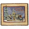 Disney Throw Blanket - Seasons Greetings - Disney California Adventure Park