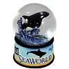 SeaWorld Snow Globe - Orca - Killer Whale - Statistics Design - Musical