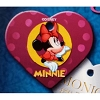 Disney Engraved ID Tag - Minnie Dot Heart