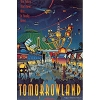 Disney Print - 16 X 20 - TOMORROWLAND - Walt Disney World