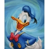 Disney Artist Proof - Greg McCullough - Giclee On Canvas - Duck Swirl