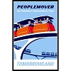 Disney Print - 16 X 20 - Tomorrowland - PEOPLEMOVER