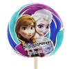 Disney Candy Co. - Anna and Elsa Blue Raspberry Lollipop - 2 oz