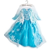 Disney Girls Costume - Frozen - Elsa Ice Queen Dress