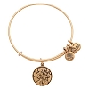 Disney Alex and Ani Charm Bracelet - Mickey and Pluto - Gold