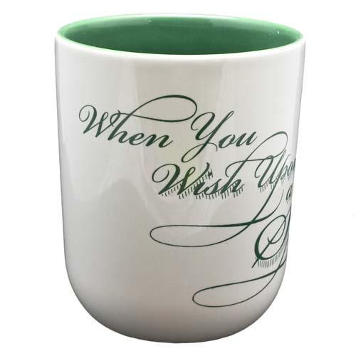 Disney Coffee Cup Mug Jimminy Cricket Slogans